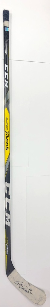 #97 Connor McDavid Game Used Stick - Autographed - Edmonton Oilers