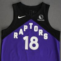 Yuta Watanabe - Toronto Raptors - Game-Worn Earned Edition Jersey - 2020-21 NBA Season