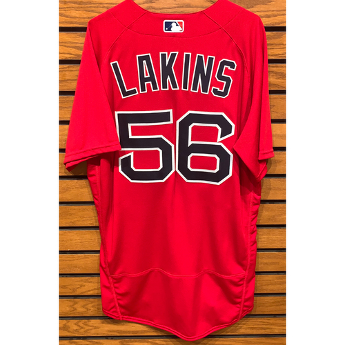 Photo of Travis Lakins Team Issued 2020 Spring Training Jersey