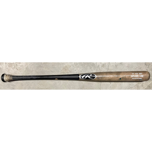 Photo of Team Issued Bat: Nate Lowe #35
