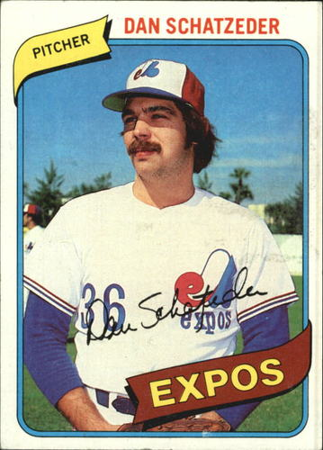 Photo of 1980 Topps #267 Dan Schatzeder