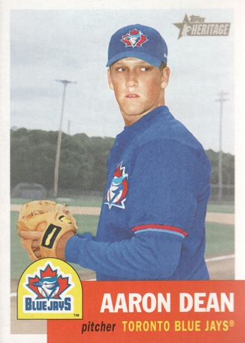 Photo of 2002 Topps Heritage #173 Aaron Dean RC