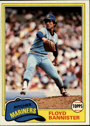 Photo of 1981 Topps #166 Floyd Bannister