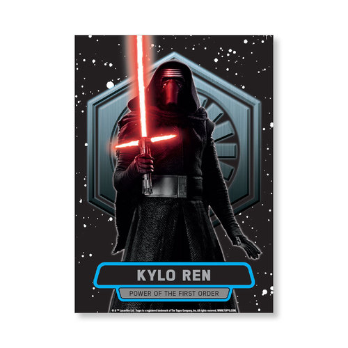 Kylo Ren TFA Series 2 POWER OF THE FIRST ORDER Poster - # to 99