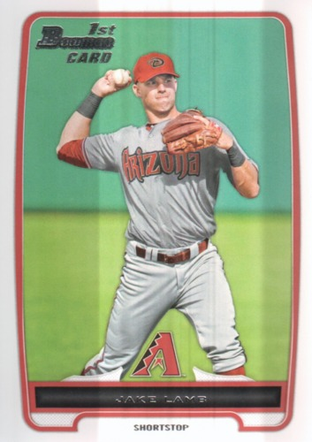 Photo of 2012 Bowman Draft Draft Picks #BDPP110 Jake Lamb Pre-Rookie Card