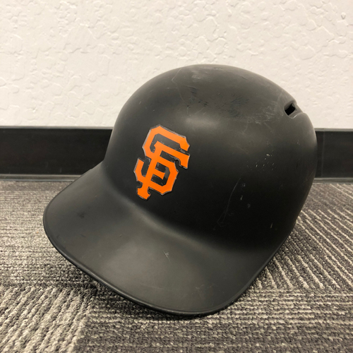 Photo of San Francisco Giants - 2017 Game Used Helmet used by #12 Joe Panik