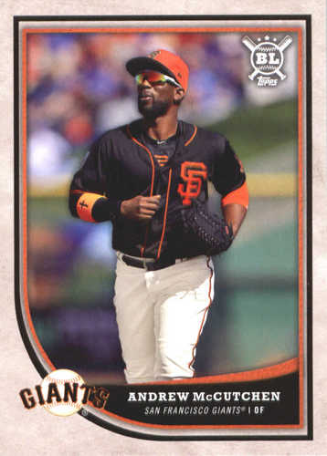 Photo of 2018 Topps Big League #153 Andrew McCutchen