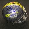 NFL - 2018 Pro Bowl multi signed proline helmet w/ over 60 signatures (including Russell Wilson, Drew Brees, Le'Veon Bell, Derek Carr, Alvin Kamara)