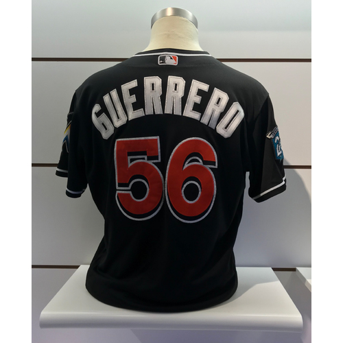 Photo of  Game-Used Jersey: Tayron Guerrero vs Reds (September 21, 2018) (Size - 48)