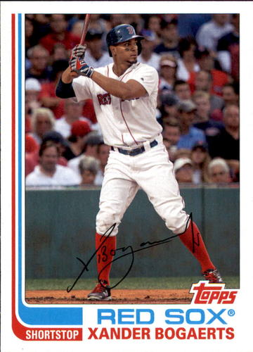 Photo of 2017 Topps Archives #194 Xander Bogaerts