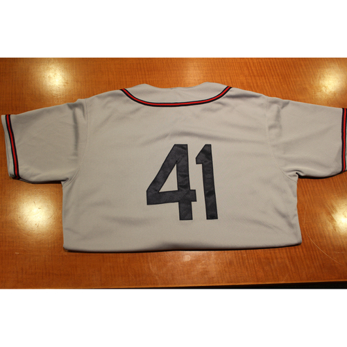 Photo of Game-Used Uniform: 6/1/19 & 6/7/19 Pittsburgh Crawford Uniform Set  - Rick Eckstein