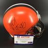 NFL - Browns Myles Garrett Signed Proline Helmet