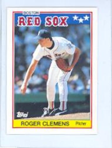 Photo of 1988 Topps UK Minis #15 Roger Clemens