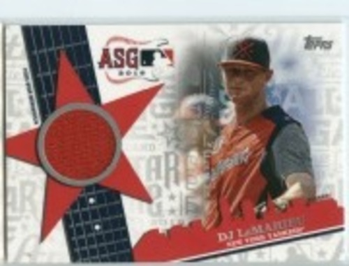Photo of 2019 Topps Update All Star Stitches #ASSRDL DJ LeMahieu