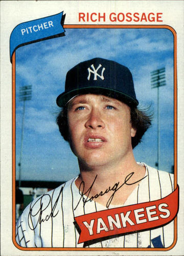 Photo of 1980 Topps #140 Rich Gossage