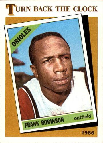 Photo of 1986 Topps #404 Frank Robinson TBC