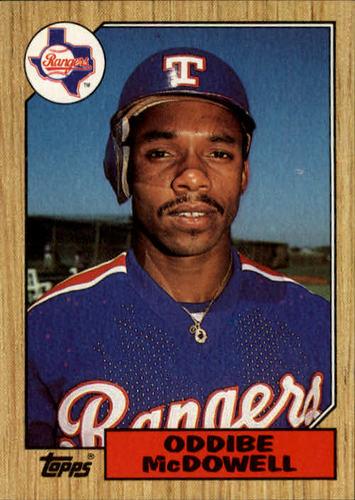 Photo of 1987 Topps #95 Oddibe McDowell