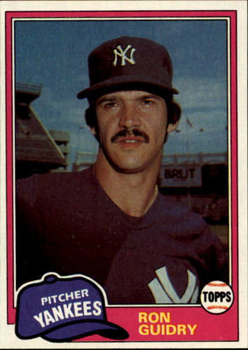 Photo of 1981 Topps #250 Ron Guidry