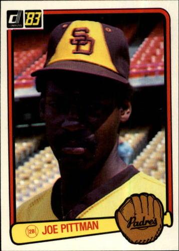 Photo of 1983 Donruss #247 Joe Pittman
