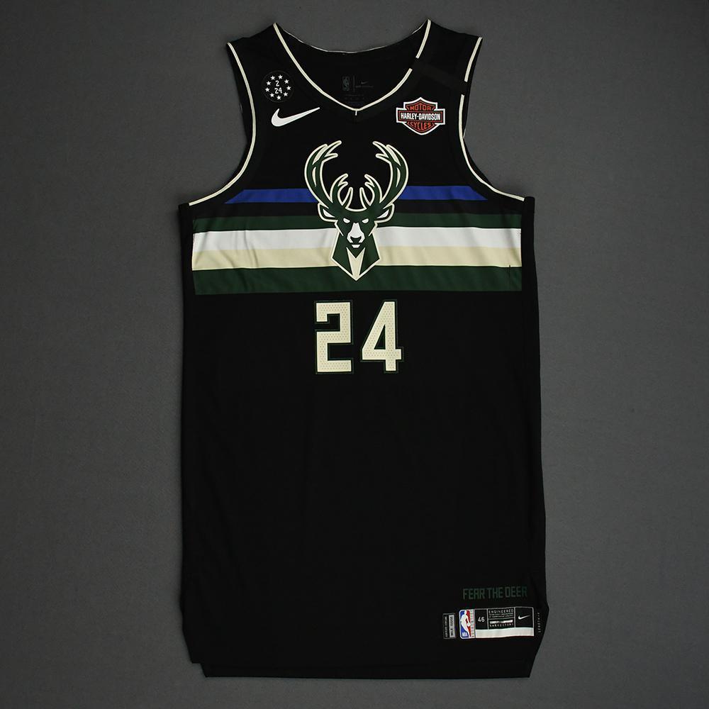 Pat Connaughton - Milwaukee Bucks - 2020 AT&T Slam Dunk - Event-Worn Statement Edition Jersey