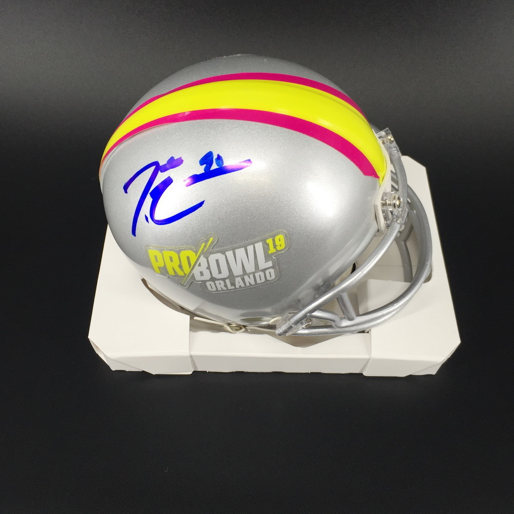 NFL - Cowboys Demarcus Lawrence Signed Pro Bowl 2019 Mini Helmet