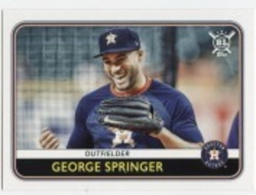 Photo of 2020 Topps Big League #5 George Springer