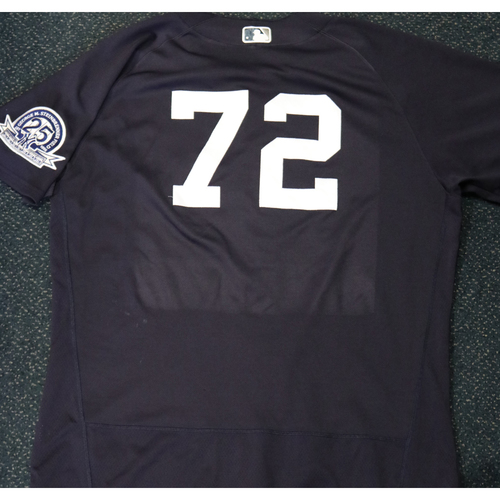 Photo of 2020 Game-Used Spring Training Jersey - Mike Ford #72 - Size 50