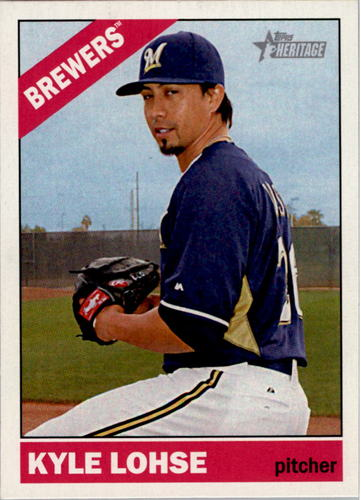 Photo of 2015 Topps Heritage #14 Kyle Lohse