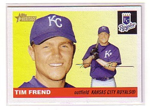 Photo of 2004 Topps Heritage #88 Tim Frend RC
