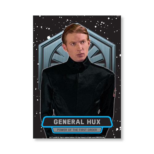 General Hux TFA Series 2 POWER OF THE FIRST ORDER Poster - # to 99
