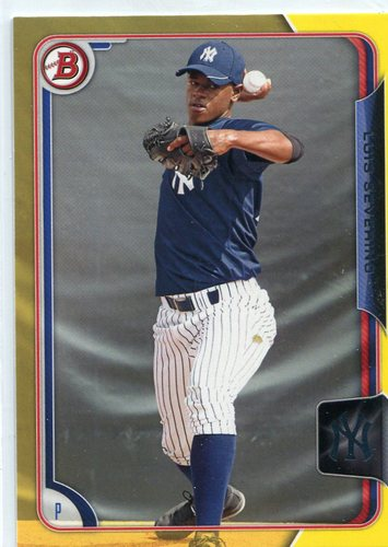 Photo of 2015 Bowman Prospects Yellow Luis Severino