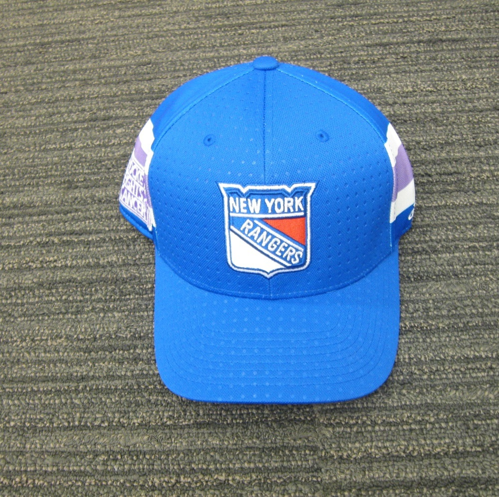 Kevin Shattenkrik 2017 HFC Player Cap from Player Media Tour - New York Rangers