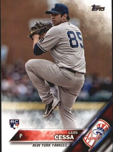 Photo of 2016 Topps Update #US18 Luis Cessa RC