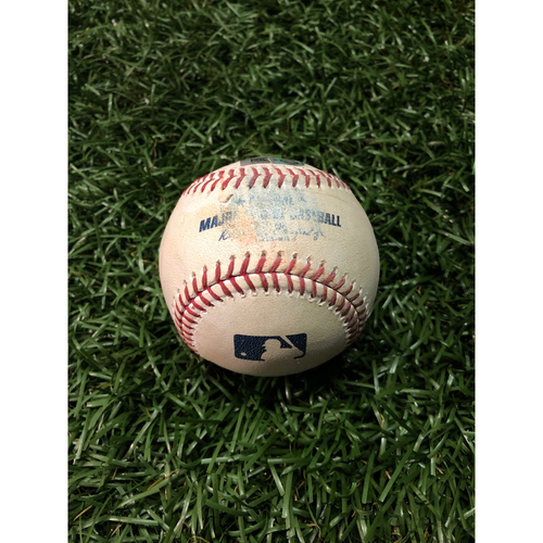 Photo of Game Used Baseball: Diego Castillo strikes out D.J. LeMahieu - May 11, 2019 v NYY