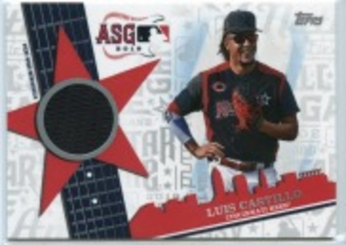 Photo of 2019 Topps Update All Star Stitches #ASSRLC Luis Castillo