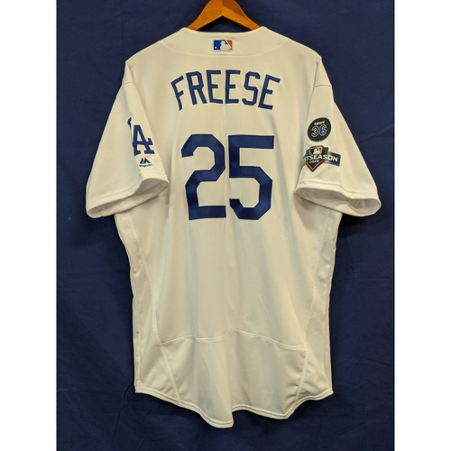 Photo of David Freese Team Issued 2019 Home Postseason Jersey