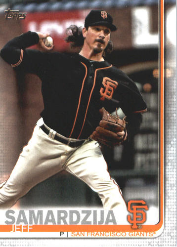 Photo of 2019 Topps #574 Jeff Samardzija