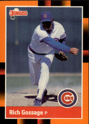 Photo of 1988 Donruss Baseball's Best #26 Rich Gossage