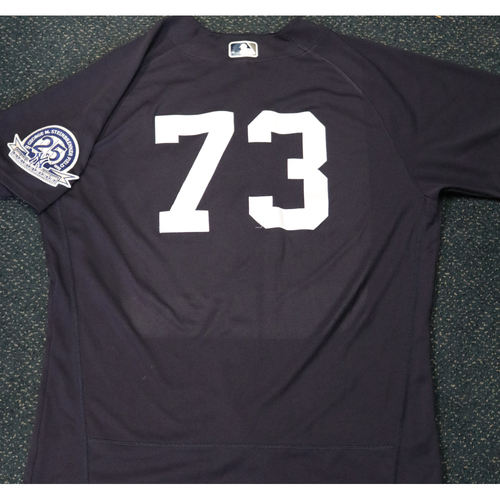Photo of 2020 Game-Used Spring Training Jersey - Michael King #73 - Size 46