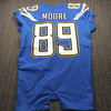 International Series - Chargers Jason Moore Game Used Jersey (11/18/19) Size 42