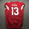 STS - Cardinals Christian Kirk Signed Game Issued Jersey Size 38