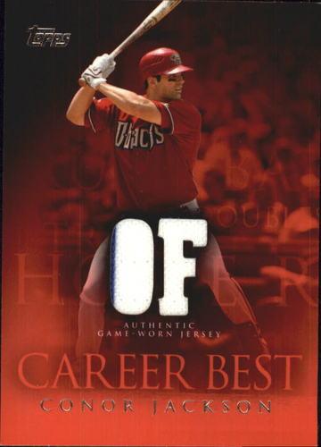 Photo of 2009 Topps Career Best Relics #CJ Conor Jackson Jsy B2