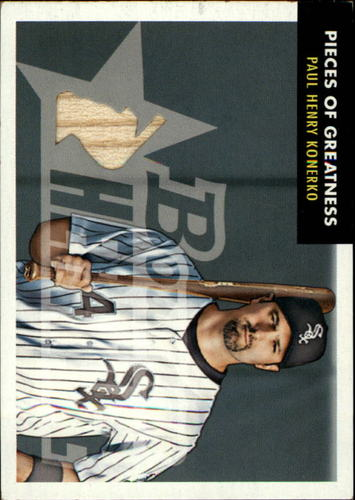 Photo of 2007 Bowman Heritage Pieces of Greatness #PK Paul Konerko Pants B