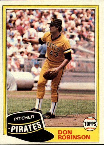 Photo of 1981 Topps #168 Don Robinson DP