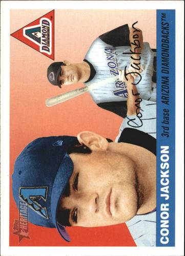 Photo of 2004 Topps Heritage #75 Conor Jackson RC