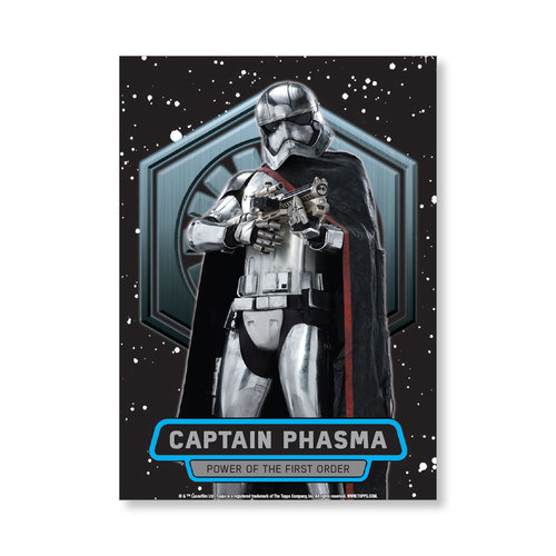 Captain Phasma TFA Series 2 POWER OF THE FIRST ORDER Poster - # to 99