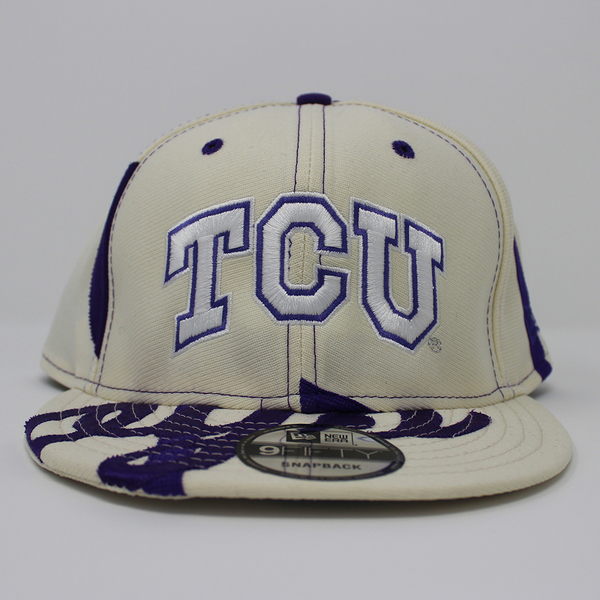 college vault baseball cap tcu capacity hat fitted authentic