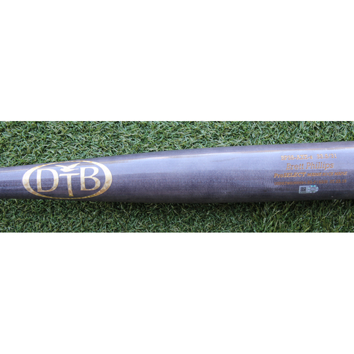 Photo of Game-Used Broken Bat: Brett Phillips 37th Career Hit (STL @ KC - 8/10/18)