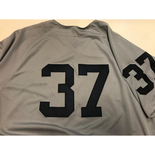 Photo of Game-Used 1968 World Series 50th Anniversary Jersey: Jim Adduci