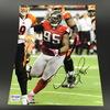 Falcons - Jonathan Babineaux Signed 8X10 Photo